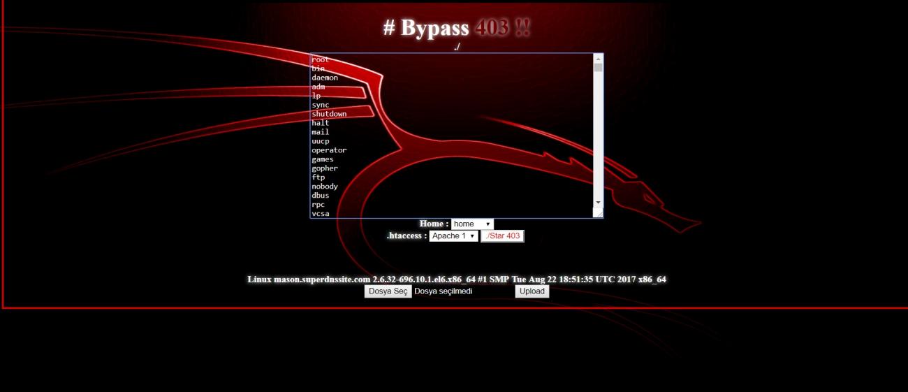 Symlink Bypass 403